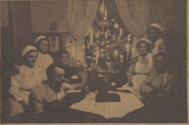 Christmas Eve at the hospital, The Red Cross, 31 December 1916