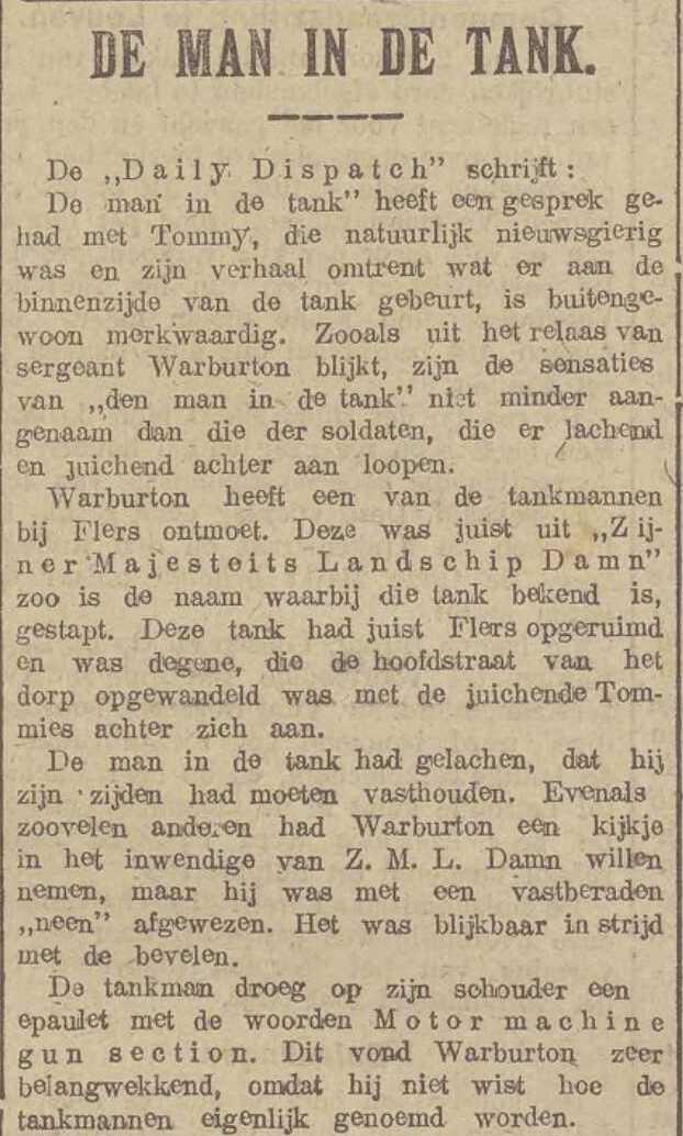 Belgisch dagblad, 17/10/1916