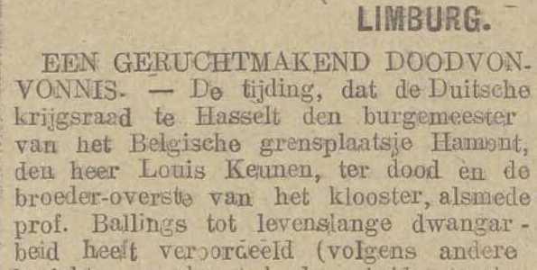 Belgisch Dagblad, 5 september 1917
