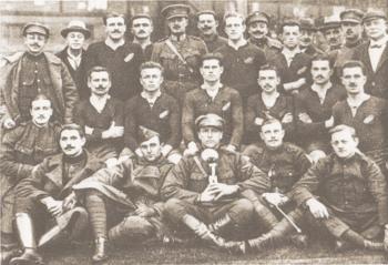 De Belgian Front Wanderers ca. 1917 - Archief Club Brugge