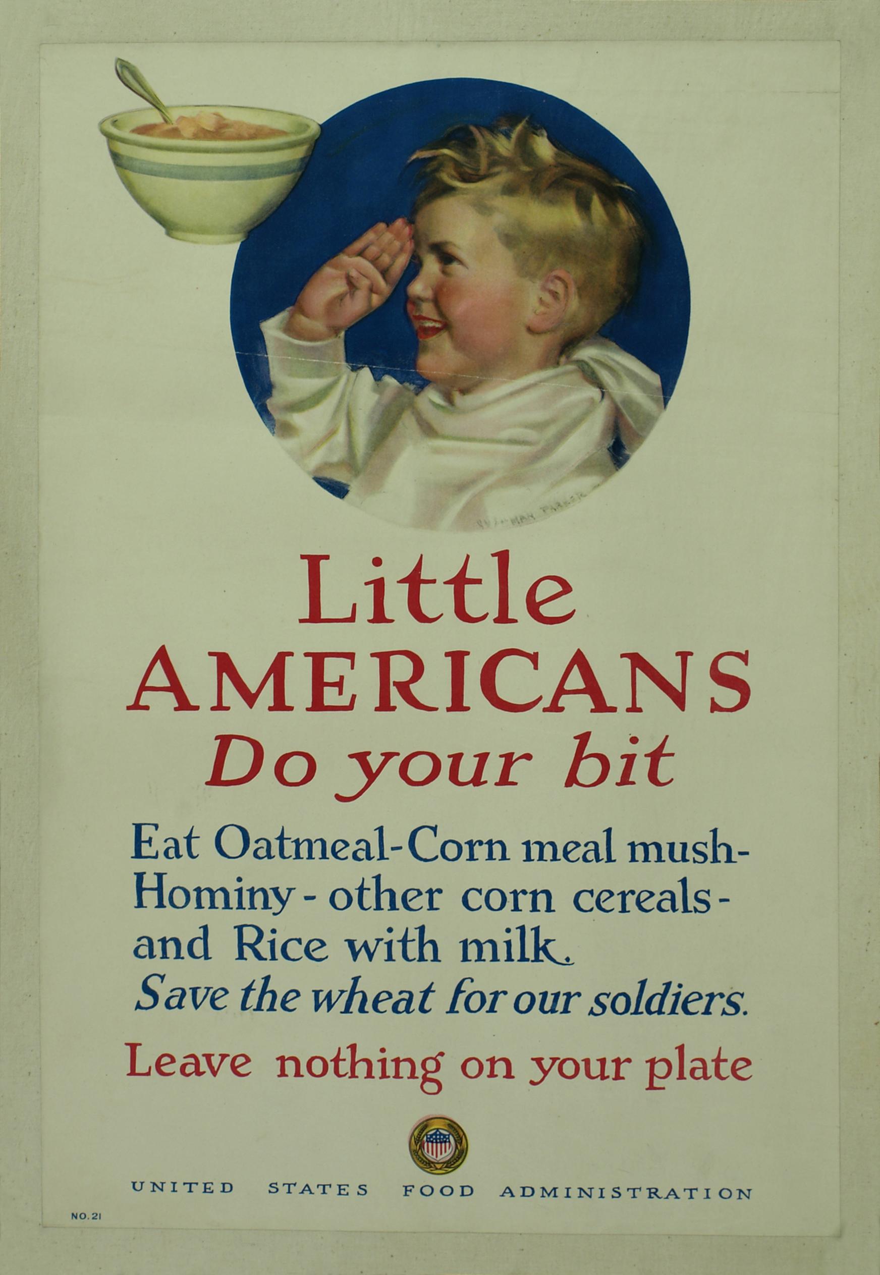 Little Americans (affiche) - Databank Agrippa, Letterenhuis