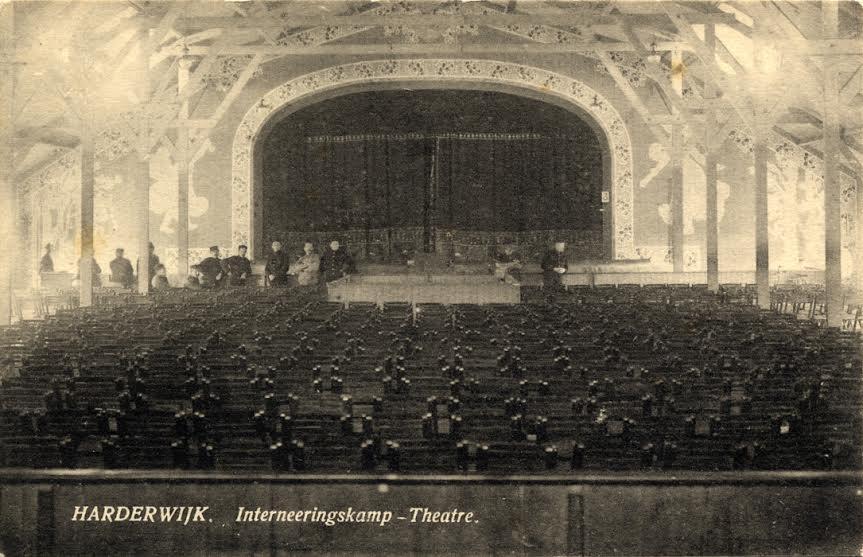 Theater in het interneringskamp Harderwijk - Databank Agrippa, Letterenhuis