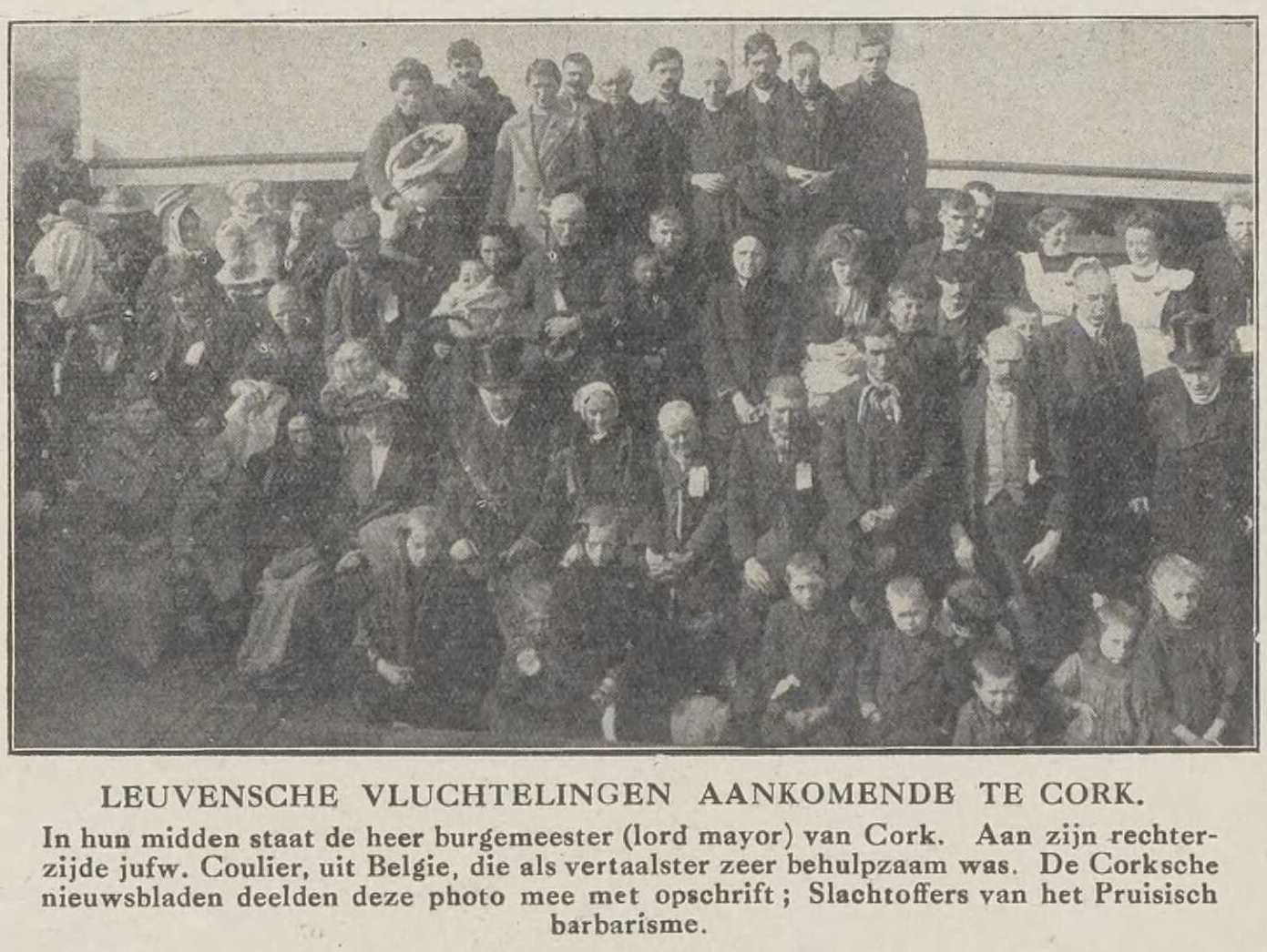De stem uit België, 23 oktober 1914