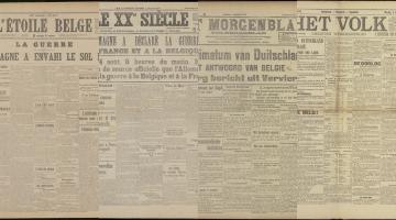 De Duitse inval in België