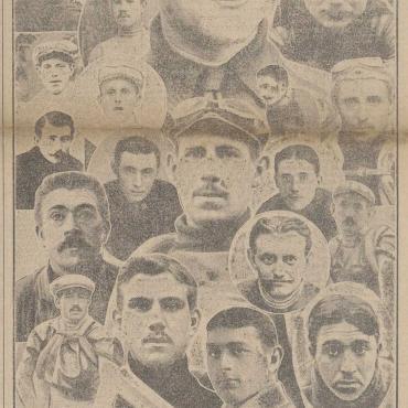 The Tour de France 1914